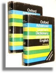 OXFORD ADVANCED LEARNER'S DICTIONARY OF CURRENT ENGLISH [Tom 1-2 komplet] - Hornby, A. S. * Cowie, A. P.