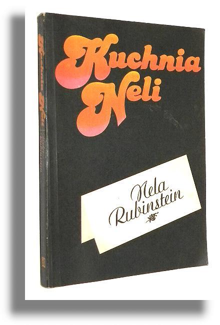 Kuchnia Neli Rubinstein Nela Kuchnia Polska Antykwariat