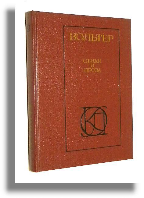 Wiersze I Proza Po Rosyjsku Wolter Voltaire Po