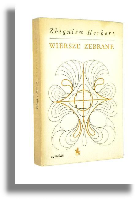 Wiersze Zebrane Herbert Zbigniew Poezje Antykwariat