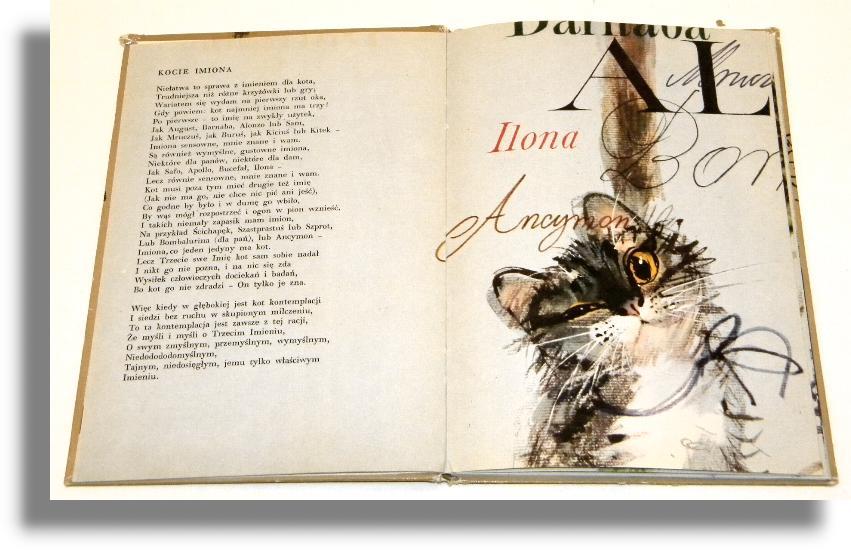 Wiersze O Kotach Eliot Thomas Stearns Wiersze Dla Dzieci